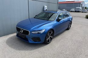 Volvo V90 D4 AWD R-Design Geartronic bei Autohaus L.E.B in